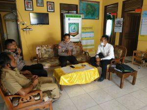 Cegah Covid 19 Kapolsek Manggar Koordinasi Dan Cek Persiapan Kampong Tegep Mandiri Desa Burung Mandi Lensaexpose